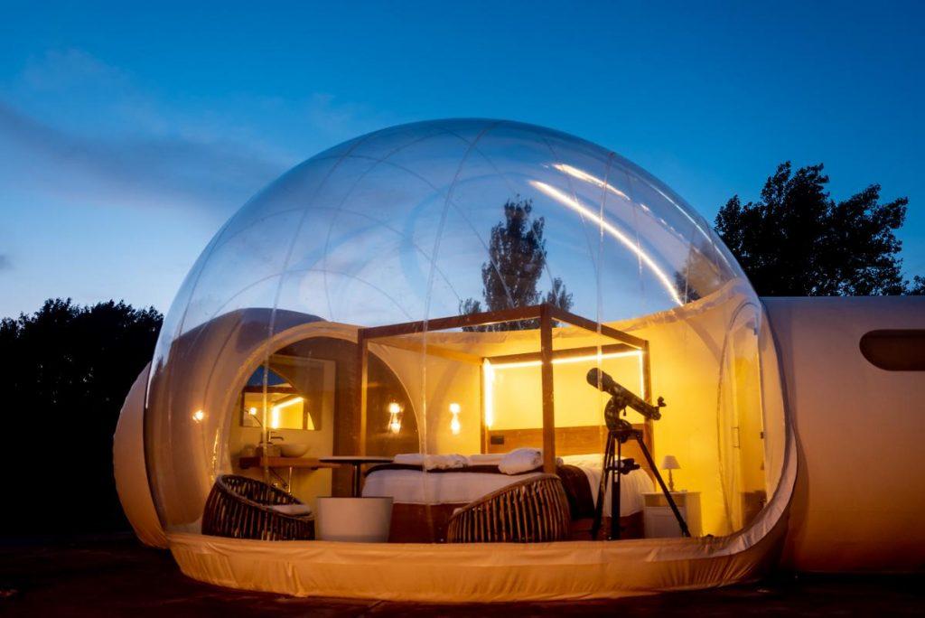 hotel burbuja regalo