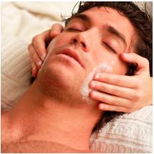 Facial detox treatment