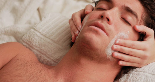 Hairdressing for men Barcelona - Facial detox