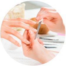 Limar y esmaltar (manos)