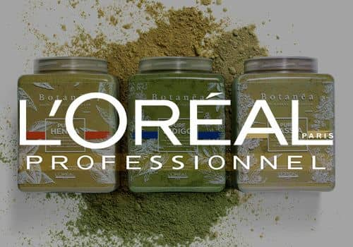 L'Oreal hairdressing