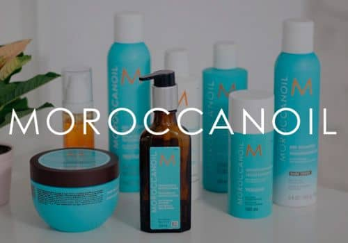 Moroccanoil hairdressing